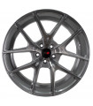 Rin 20X8.5 5-113 PRW Mod: P656 ET35 CB73.1 GLOSS SILVER BRUSHNED FACE WITH DARK CLEAR COAT