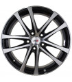 Rin 14X6 4-100 PRW Mod: P559 ET35 CB73.1 BLACK MACHINE FACE