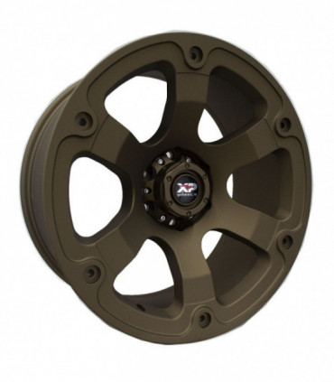 Rin 20X9 6-139.7 XP WHEELS Mod: 180 ET0 CB106.2 MATTE DARK BRONZE