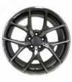 Rin 19X9 5-112 EQUIPO ORIGINAL Mod: 5626 ET45 CB66.46 DARK GUN METAL MACHINE FACE