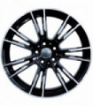 Rin 20X8.5 5-112 EQUIPO ORIGINAL Mod: 7134 ET23 CB66.56 BLACK MACHINE FACE