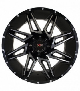 Rin 22X12 5-127/139.7 XP WHEELS Mod: 8049 ET-44 CB87.1 BLACK MACHINE FACE