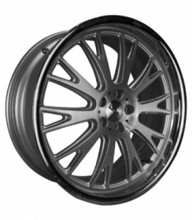 Rin 19X8 5-100 TSW Mod: MONACO ET35 CB72.1 SILVER BRUSHED FACE / CRHOME LIP