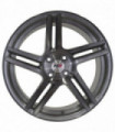 Rin 17X7.5 5-112 PRO WHEELS Mod: PRO5025 ET40 CB73.1 SILVER GLOSS/BRUSHED FACE/BLACK CLEAR COAT