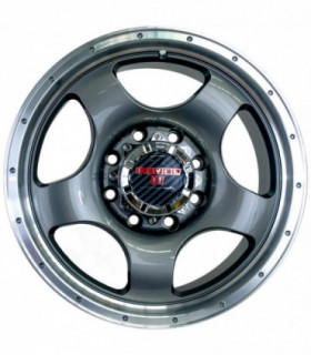 Rin 18X9 5-127 LEVEL 8 Mod: PUNCH ET18 CB71.5 ANTHRACITE WITH MACHINE LIP